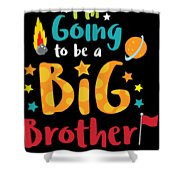 Big Brother Space Theme Light Promotion Shower Curtain