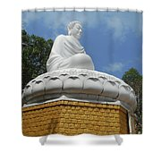 Big Buddha 2 Shower Curtain