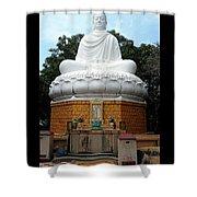 Big Buddha 3 Shower Curtain