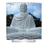 Big Buddha 4 Shower Curtain