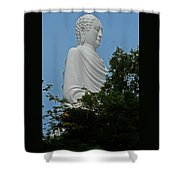 Big Buddha 5 Shower Curtain