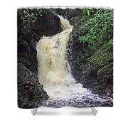 Big Burn Waterfall Shower Curtain