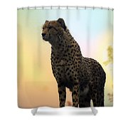 Big Cats 104 Shower Curtain