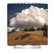 Big Cloud Shower Curtain