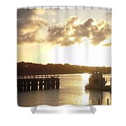 Big Country Light  Shower Curtain