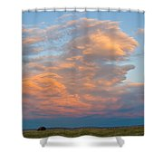 Big Country Sunset Sky Shower Curtain
