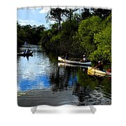 Big Cypress Outing Shower Curtain