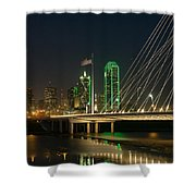 Big D Reflections Shower Curtain
