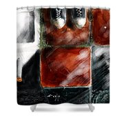 Big Decision Shower Curtain