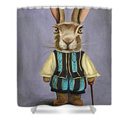 Big Ears 2 Shower Curtain