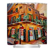 Big Easy Sunset Shower Curtain