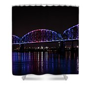 Big Four Bridge 2217 Shower Curtain