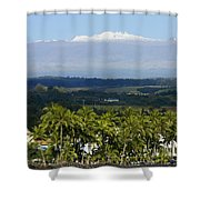 Big Island, Hilo Bay Shower Curtain