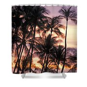 Big Island Palms Shower Curtain