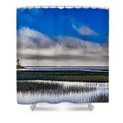 Big Lagoon Park California Shower Curtain