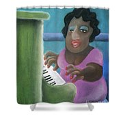 Big Mama Shower Curtain