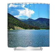 Big Meadows Shower Curtain