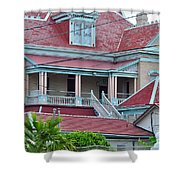 Big Money Moves Into Key West  Shower Curtain
