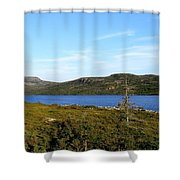 Big Pond II Shower Curtain