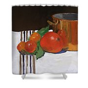 Big Red Tomato Shower Curtain