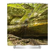 Big Sand Cave 1 Shower Curtain