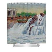 Big Sioux Falls Shower Curtain