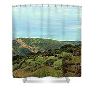 Big Skies Of Colorado Shower Curtain