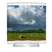 Big Sky-brief Shower Shower Curtain