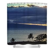 Over Molokai Shower Curtain