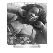 B.i.g. Summer 40 Shower Curtain
