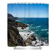Big Sur Ca Shower Curtain