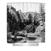 Big Thompson Canyon Shower Curtain