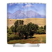 Big Timber Canyon 2 Shower Curtain