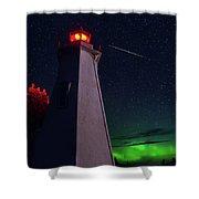 Big Tub Shooting Star Shower Curtain