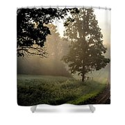 Big Valley Mist  Shower Curtain
