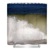 Big Waves Shower Curtain
