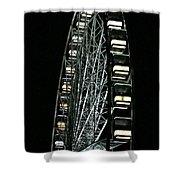 Big Wheel  Shower Curtain