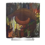 Big Whiskey Shower Curtain