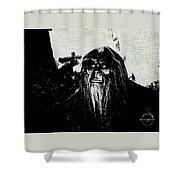 Bigfoot Shower Curtain