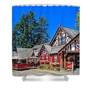 Bigfork Inn Shower Curtain