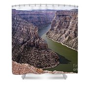 Bighorn Canyon Shower Curtain