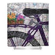 Bike Like #2 Shower Curtain