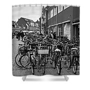 Bikes Of Skagen Shower Curtain