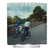 Bikes On The Deise Greenway 2 Shower Curtain