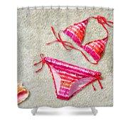 Bikini - Id 16218-130715-5870 Shower Curtain