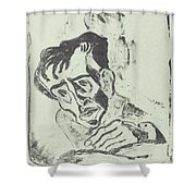 Bildnis Dr. Gr. Shower Curtain