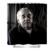 Bill At Monarch Shower Curtain