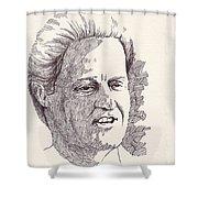 Bill Clinton Shower Curtain