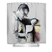Bill Evans Shower Curtain