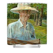 Bill Hines The Legend Shower Curtain